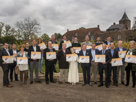 Gas erop! VNO-NCW Brabant Zeeland reikt cheque uit aan ondernemers voor verduurzaming