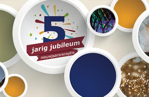 5-jarig jubileum van Dé Nieuwjaarsreceptie
