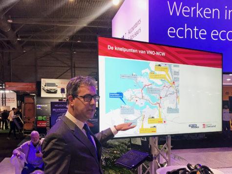 Van der Maas bespreekt infrawensen met VNO-NCW Zeeland