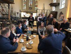 Sociaal ondernemen begint met een lunch bij Restaurant Onze Kerk