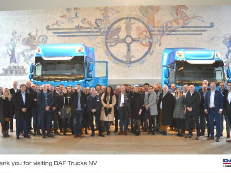 Een beleving bij DAF Trucks