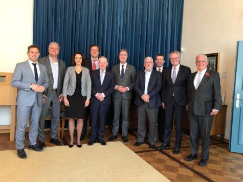 Kennismaking met college van gedeputeerde staten in Zeeland