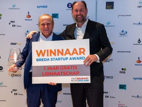 BioscienZ winaar Breda Startup Award
