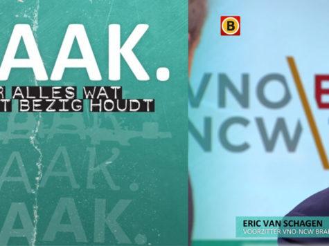 Terugkijken: Eric van Schagen bij Kraak (Omroep Brabant) over gevolgen Coronavirus voor ondernemers