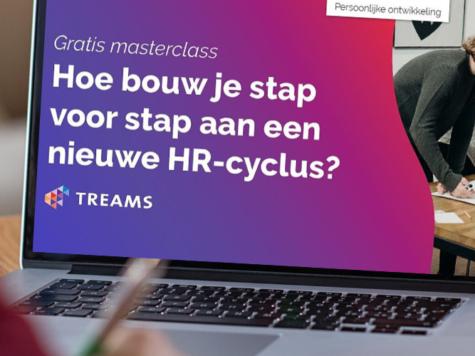 Stap voor stap naar een nieuwe HR-cyclus | TREAMS