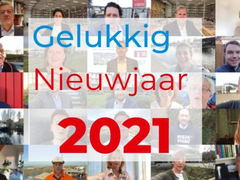 Nieuwjaarsboodschap 2021 van, voor en door onze leden 2021 [VIDEO]