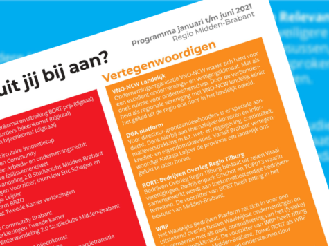 Waar sluit jij bij aan? Halfjaar programma 2021 VNO-NCW Midden Brabant