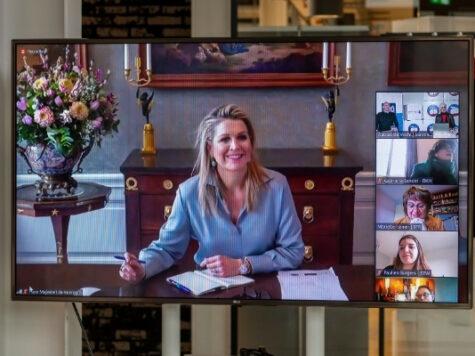 Koningin Máxima brengt werkbezoek aan Tilburg