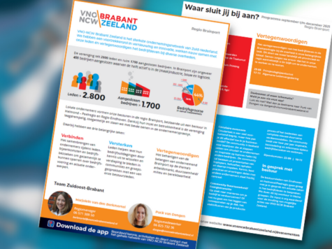 VNO-NCW Regio Brainport | Programma september tot en met december